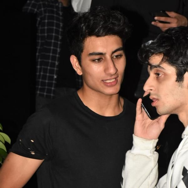 Ibrahim Ali Khan Was Spotted On A Night Out With Friends