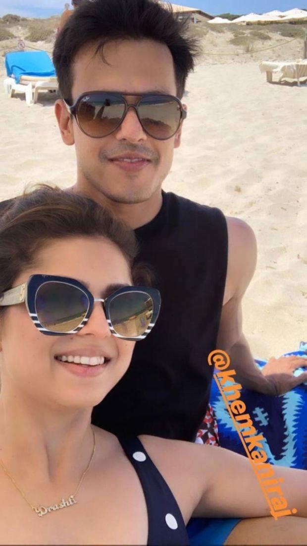 Drashti Dhami Spotted Enjoying Her Spanish Bikini Vacation With Her Hubby