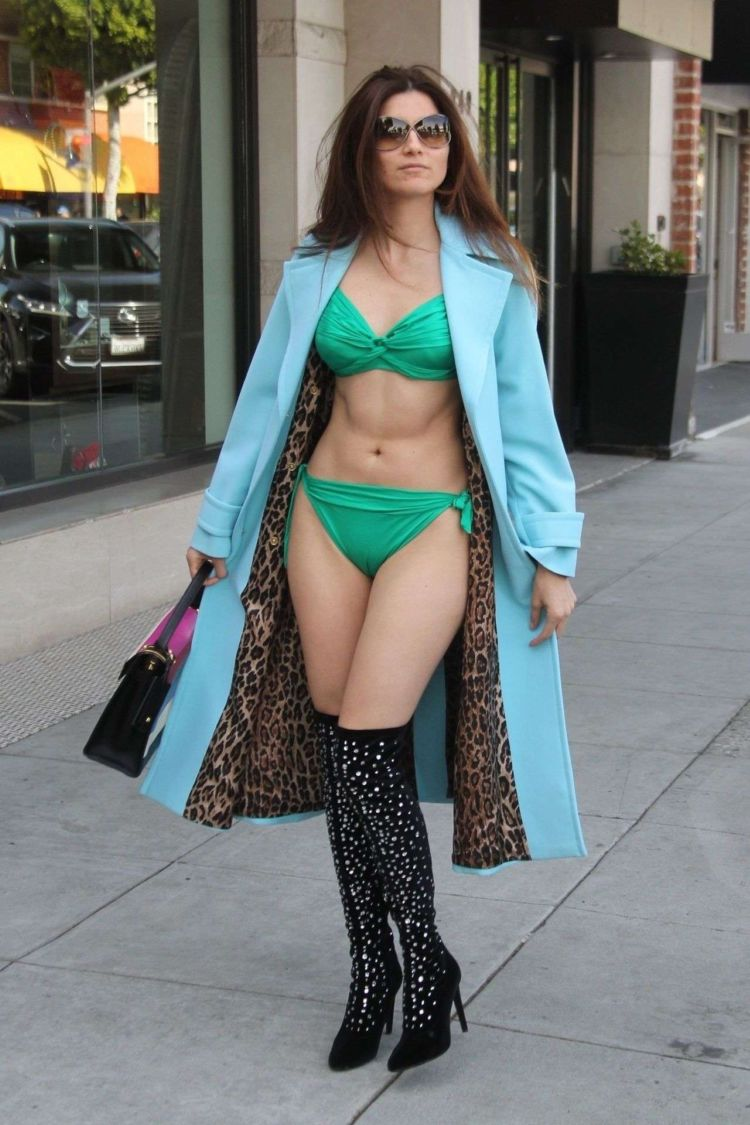 Blanca Blanco Out And About Candids In Beverly Hills
