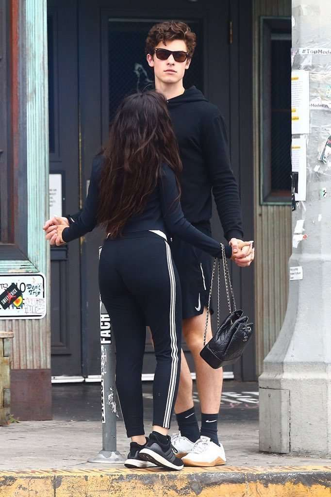 Camila Cabello With Boyfriend Out in Hollywood