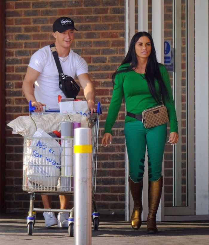 Katie Price Spotted Shopping And Horse Riding In London