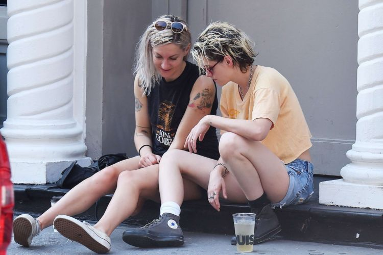 Kristen Stewart Spotted With Writer Dylan Meyer In New York