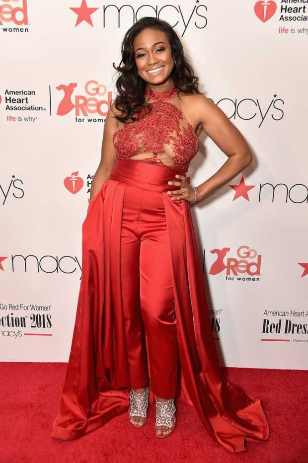 Tatyana Ali Attends American Heart Association's Go Red For Women Event